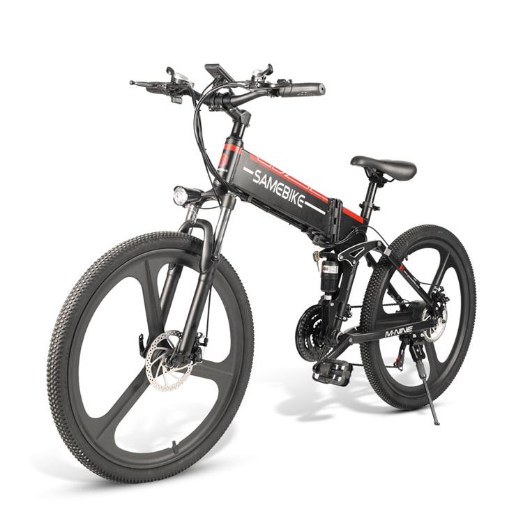 """SAMEBIKE Bicicletta Elettrica Pieghevole , 26 """"Mountain ..."""